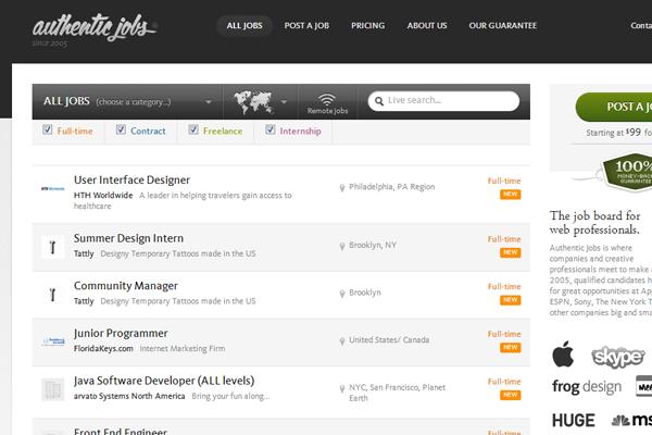 02-authentic-jobs-website-job-board