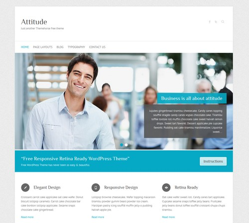 Attitude-WordPress-Template