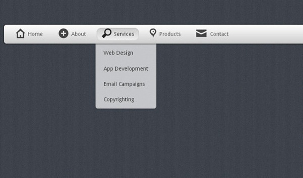 Create-a-stunning-menu-in-CSS3