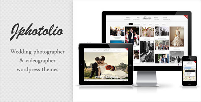JPhotolio - Responsive Wedding Photography WP-Theme