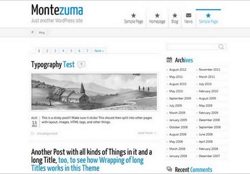 Montezuma-Themes