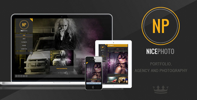 NicePhoto - WordPress Photography Portfolio