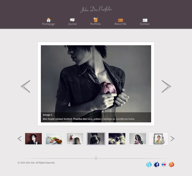 PSD-Template-for-Portfolio-&-Blog