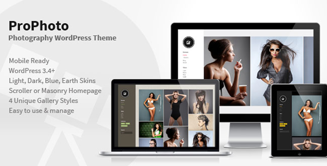 PhotoPro - Photography WordPress-Theme