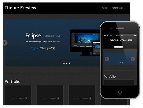 eclipse-free-wordpress-theme