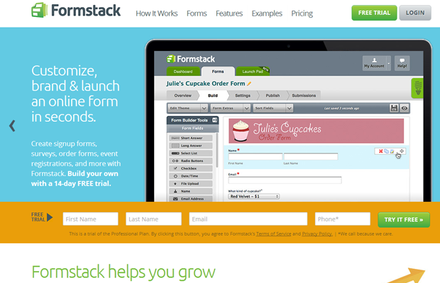 07-formstack-homepage-landing-website-interface