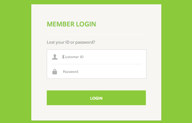 19-green-login-form-interface-webdesign