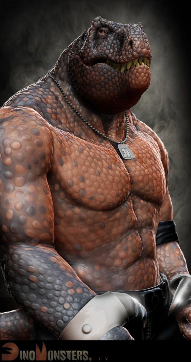 16-dinosaur-3d-monster-character