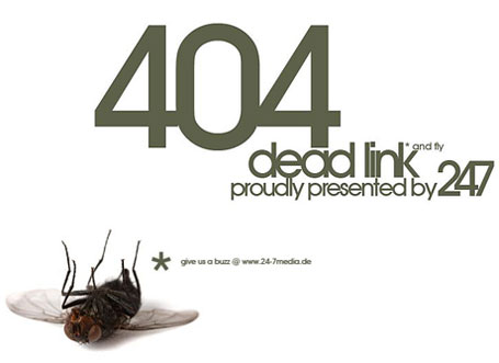 cool-404-errors-dead-fly
