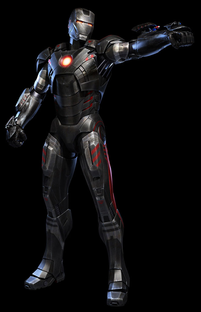 10-iron-man-3d-robot