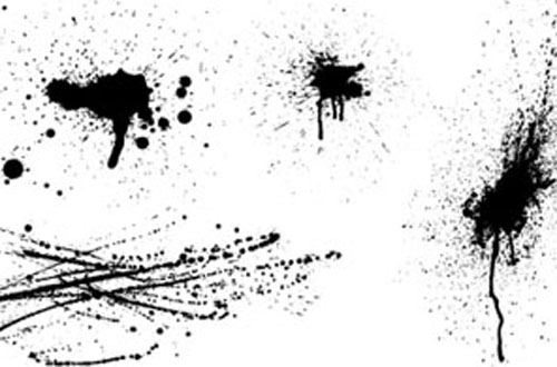 1.Splatters-vectors1