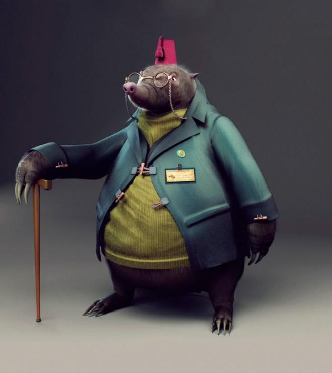 3d-character-design By JorgeMonteroBruna.forblog