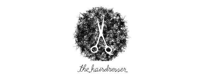 21-salon-barber-logo-design