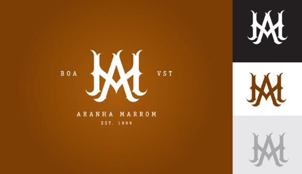 monogram_aranha_marrom_thiago_benato
