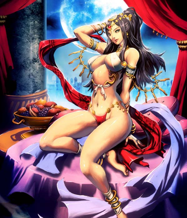 Scherezade-legendary-Persian-queen-digital-Art-Fantasy-Painting