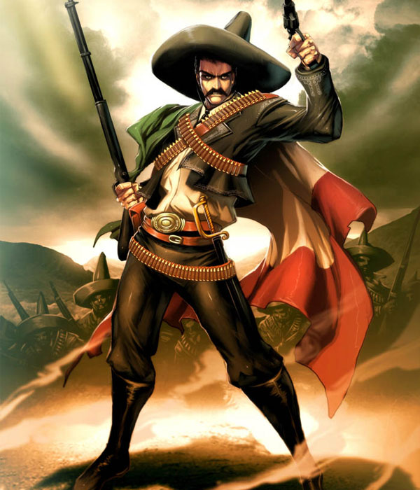 Zapata-mexican-Emiliano-Zapata-comic-picture