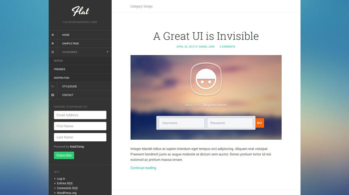 free-flat-design-wordpress-theme