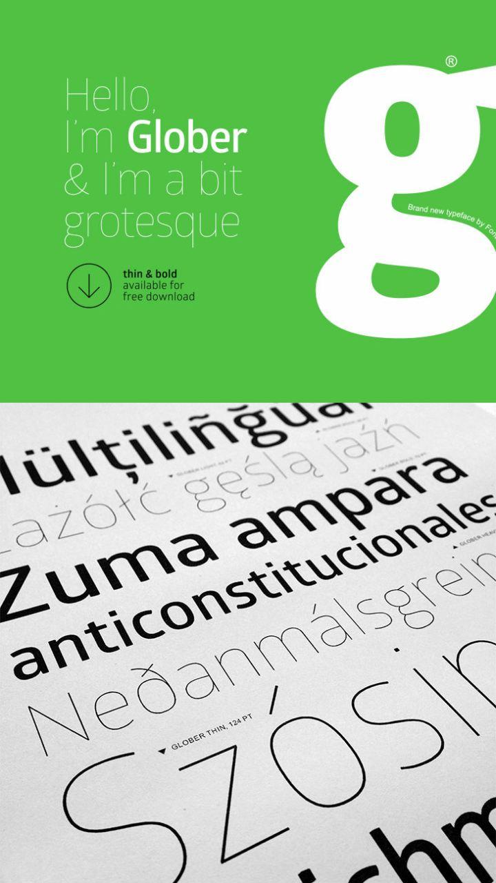 glober-free-font