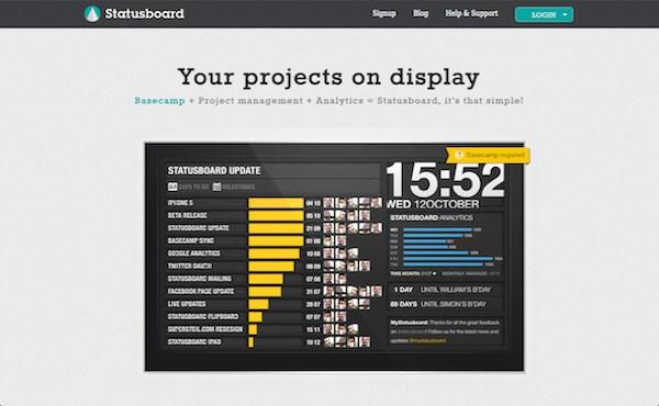 startup-statusboard