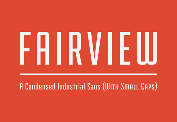 Fairview-font