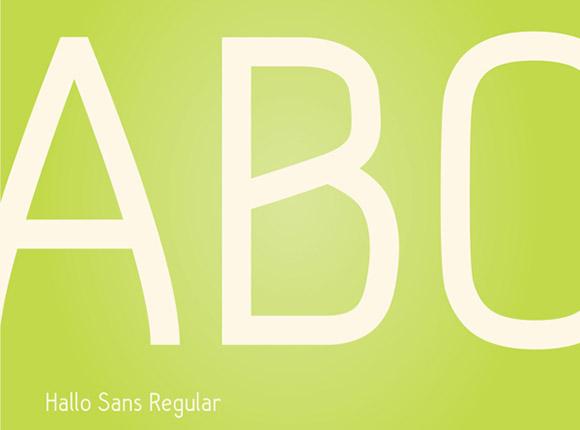 Hallo-Sans-free-font