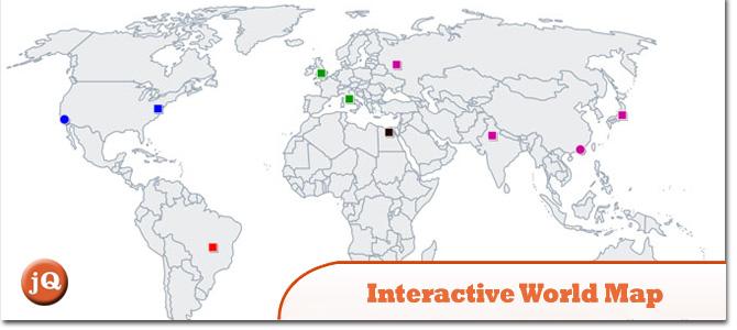Interactive-World-Map