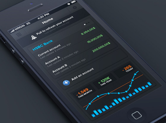 Banking-iphone-app-by-Anthony-Aubertin