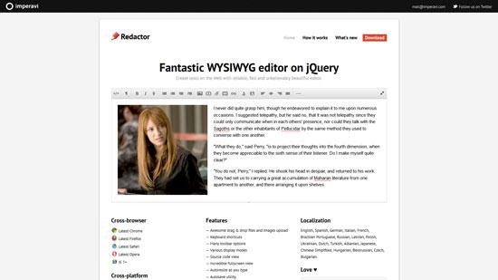 Redactor-WYSIWYG