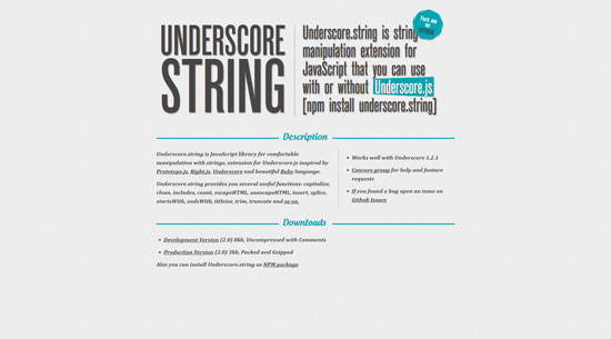 Underscore_string