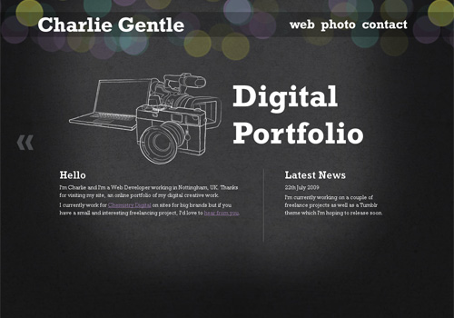 Awesome Portfolio Design Ideas Images - Decoration Design Ideas ...