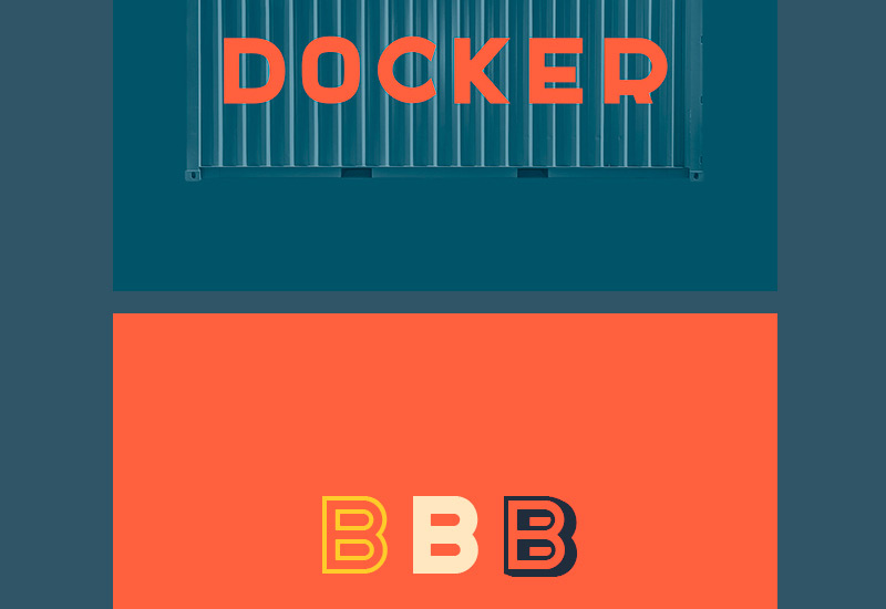 docker-free-font-on-behance