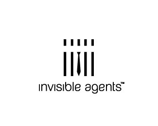 invisible-agents-logo-design-inspiration