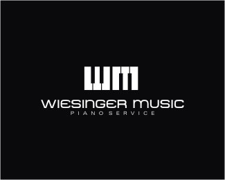 wiesinger-music-logo-design-inspiration