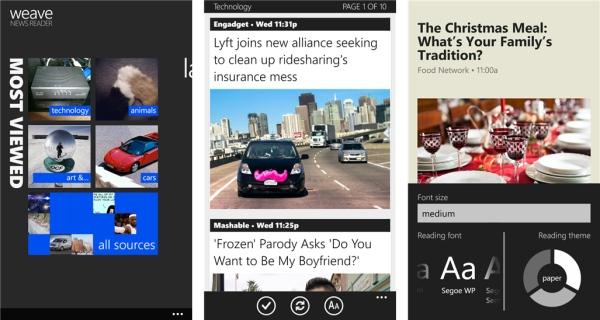 weave-news-reader-app
