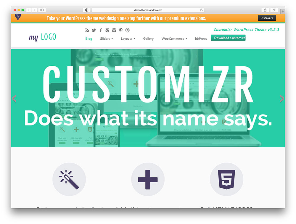 Customizr-multipurpose-theme