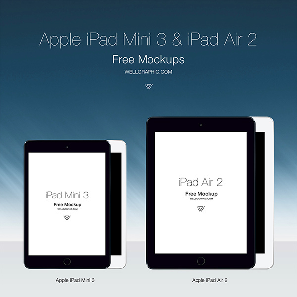 apple-ipad-mini-3-ipad-air-2-mockup-psd