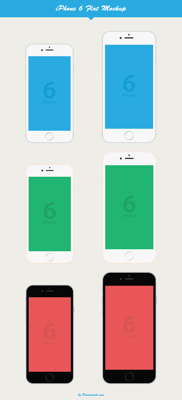iPhone-6-Flat-Vector-Mockup
