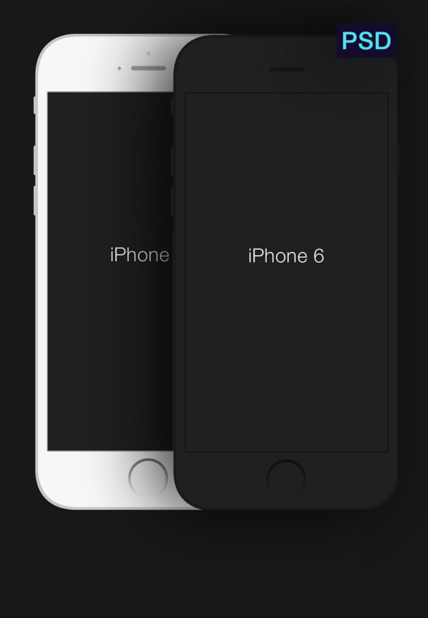 iPhone-6-Minimal-PSD